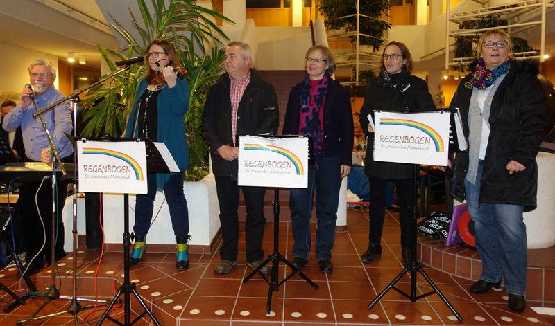 """Band """"Regenbogen"""" auf dem Weihnachtsmarkt 2017 in Mutterstadt"""